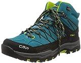 CMP – F.lli Campagnolo Unisex Kids Rigel Mid Shoe Wp Trekking- & Wanderstiefel, Blau (RIF-Energy 22LE), 36 EU