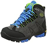 Bruetting MOUNT BONA HIGH KIDS, Jungen Trekking- & Wanderstiefel, Grau (GRAU/BLAU/LEMON), 31 EU (12.5 Kinder UK)
