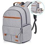 Endurax Kamerarucksack mit Laptopfach Wasserdicht Rucksack Kamera für DSLR Canon Nikon Sony und 15 Zoll