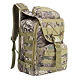 CIFFOST Tactical Backpack 35L Trekkingrucksack Wasserabweisender Military Army Combat Rucksack Wanderrucksack