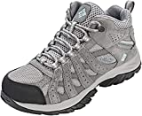 Columbia Damen Canyon Point Mid Waterproof Wanderschuhe, Grau (Light Grey, Oxygen), 39.5 EU
