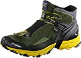 Salewa Herren MS Ultra Flex Mid Gore-TEX Traillaufschuhe, Black Out/Kamille, 44.5 EU