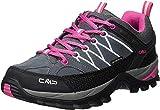 CMP Damen Rigel Low Wmn Shoes Wp Trekking- & Wanderhalbschuhe, Grau (Grey-Fuxia-Ice 103Q), 41 EU